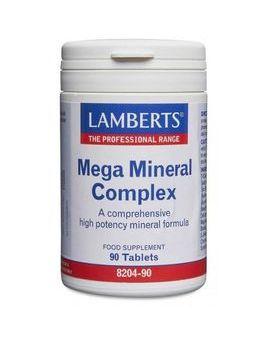 Lamberts Mega Mineral Complex (90 Tablets) # 8204