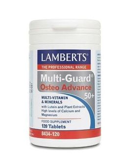 Lamberts MultiGuard OsteoAdvance 50+ (120 Tablets ) # 8434