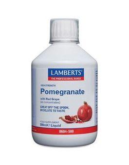 Lamberts Pomegranate Concentrate Liquid (500ml) # 8604