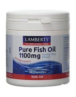 Lamberts Pure Fish Oil 1100mg (120 Caps) #8508