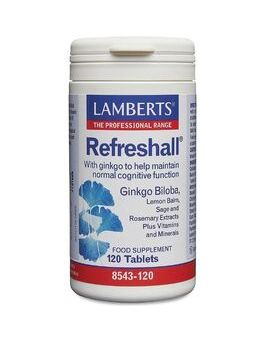 Lamberts Refreshall Ginkgo Biloba 6000mg ( 120 Tablets) # 8543