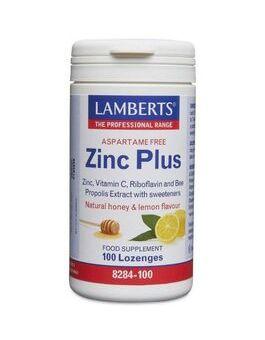 Lamberts Zinc Plus Lozenges (100 Lozenges) # 8284