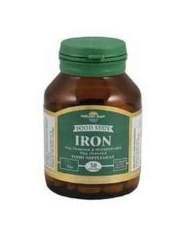 Nature's Own Food State Iron & Molybdenum