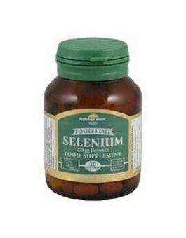 Nature's Own Food State Selenium 200mcg
