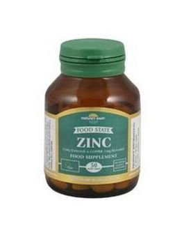 Nature's Own Food State Zinc/Copper 15mg/1mg