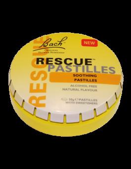 Bach Remedies  Rescue Remedy Pastilles Orange & Elderflower 50g