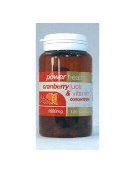 Power Health Cranberry Juice + Vit C