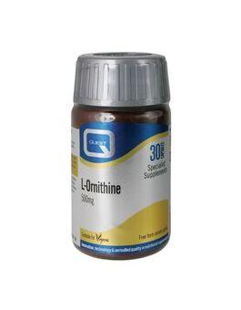 Quest Vitamins - L-Ornithine 500mg (30 Capsules)