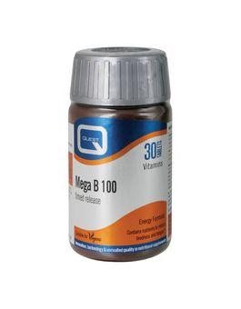 Quest Vitamins - Mega B-100 Timed Release (60 Capsules)