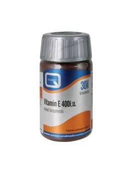 Quest Vitamins - Vitamin E 400i.u. (30 Capsules)