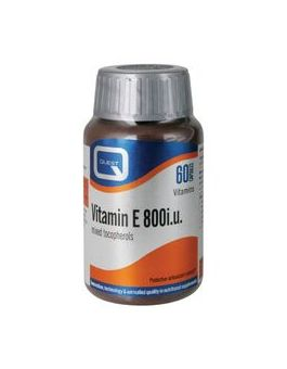Quest Vitamins - Vitamin E 800i.u. (60 Capsules)
