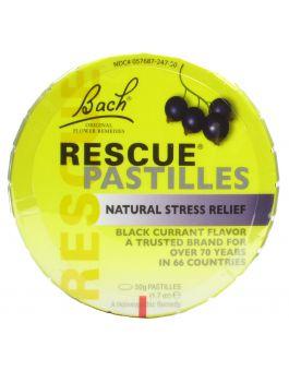Bach Remedies Rescue Remedy Pastilles Blackcurrant Flavour 50g