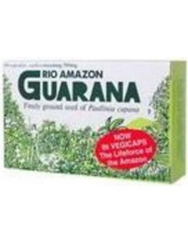 Rio Amazon Guarana 500mg-Vegetarian