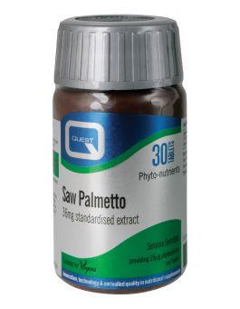 Quest Vitamins - Standardised Saw Palmetto (90 Capsules)