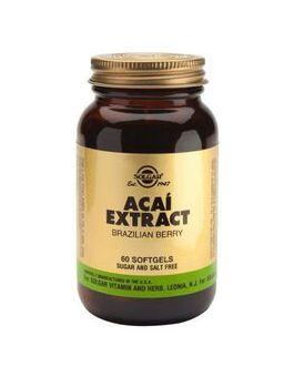 Solgar Acai Extract (60 Vegicaps) # 47