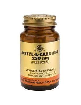 Solgar Acetyl-L-Carnitine 250mg (30 Vegcaps) # 15
