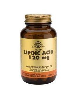 Solgar Alpha Lipoic Acid 120mg (60 Vegicaps) # 57