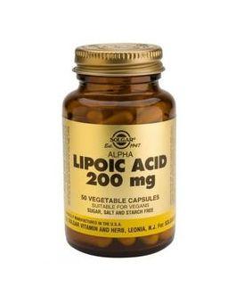 Solgar Alpha Lipoic Acid 200 mg (50 Capsules) # 58