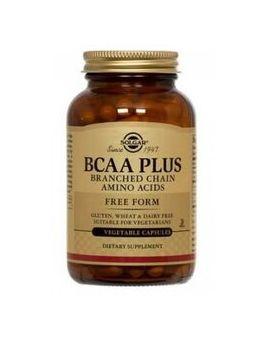 Solgar BCAA Plus (Branch Chained Amino Acids) 50 Vegcaps # 195