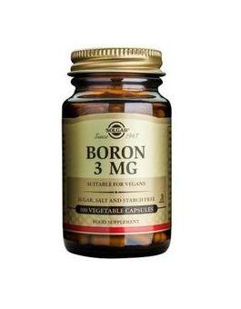 Solgar Boron (Multi Chelate) 3mg  (100 Capsules) # 1778