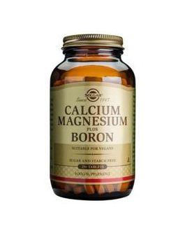 Solgar Calcium Magnesium Plus Boron (250 Tablets) # 516
