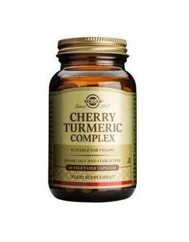 Solgar Cherry Turmeric Complex 60 Capsules # 36213