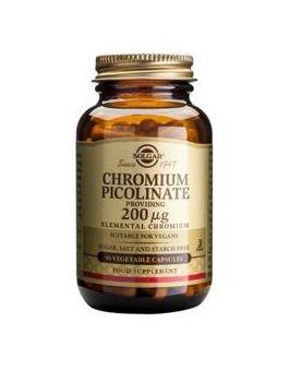 Solgar Chromium Picolinate 200 µg (90 Capsules) #866