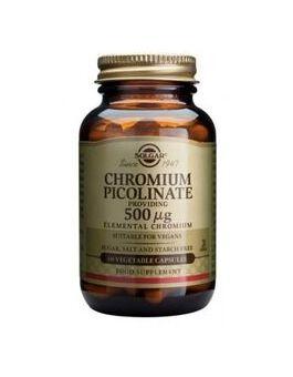 Solgar Chromium Picolinate 500 µg (60 Vegicaps) # 871
