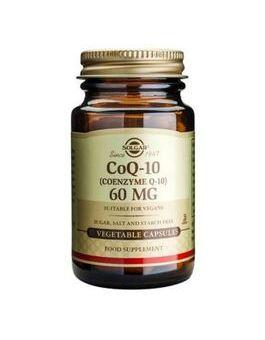 Solgar Co-Q 10 60 mg (60 Vegicaps) # 936