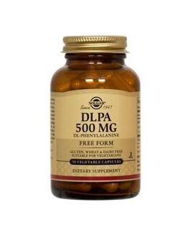 Solgar DL-Phenylalanine (DLPA) 500mg (50 Vegcaps) # 1010