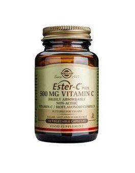Solgar Ester C Plus 500 mg (100 Vegcaps) # 1039