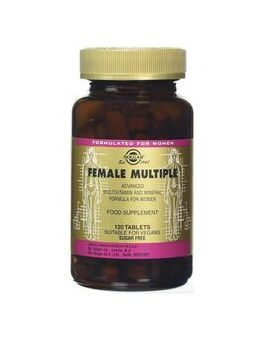 Solgar Female Multiple (120 Tablets) # 1205