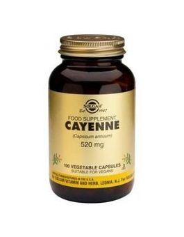 Solgar Full Potency Cayenne (100 Vegicaps) # 3786