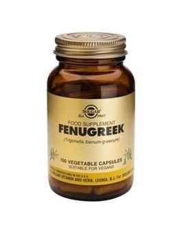 Solgar Full Potency Fenugreek 100 Veg Capsules # 3885