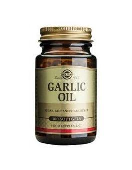 Solgar Garlic Oil (Reduced Odour) 100 Capsules # 1220