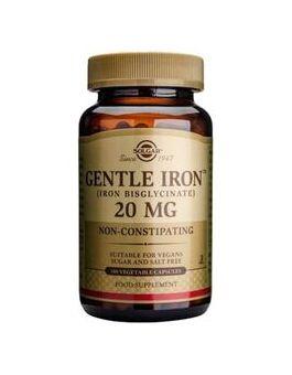 Solgar Gentle Iron 20 mg (180 Vegcaps) # 1250