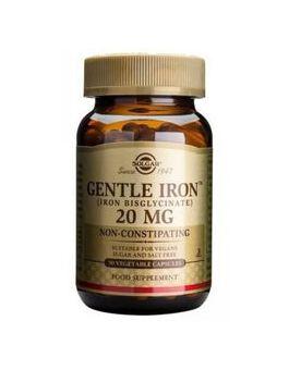 Solgar Gentle Iron 20 mg (90 Vegicaps) # 1249