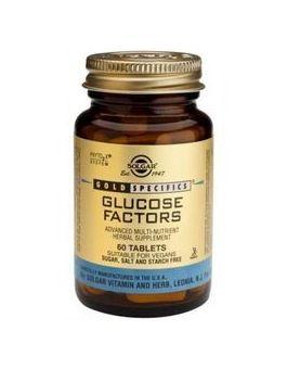 Solgar GOLD SPECIFICS Glucose Factors (60 Tablets) # 1295