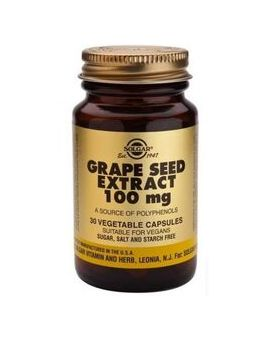 Solgar Grape Seed Extract ( 30 Vegicaps) # 1355