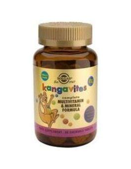 Solgar Kangavites Multivitamin For Children (Bouncing' Berry) 120 Tablets # 1016