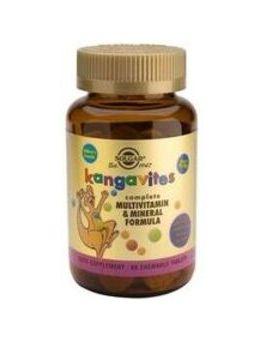 Solgar Kangavites Multivitamin For Children (Bouncing' Berry) 60 Tablets # 1015