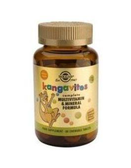 Solgar Kangavites Multivitamin For Children (Tropical Punch) 120 Tablets # 1019