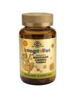 Solgar Kangavites Multivitamin For Children (Tropical Punch) 60 Tablets # 1018
