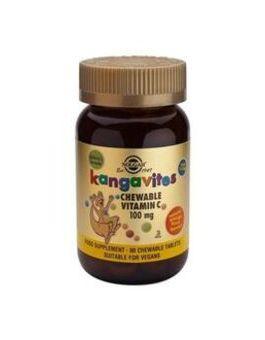 Solgar Kangavites Vitamin C 100mg Chewable (90 Tablets) # 2804
