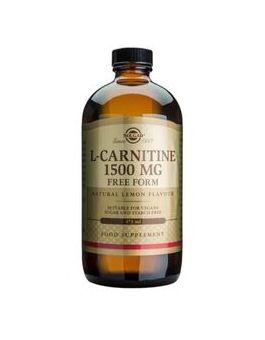 Solgar L-Carnitine 1500 mg Liquid  (473 ml) # 30721