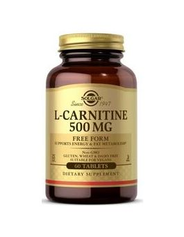 Solgar L-Carnitine 500 mg (60 Tablets) # 571