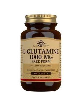 Solgar L-Glutamine 1000 mg Tablets -Pack of 60 # 1254
