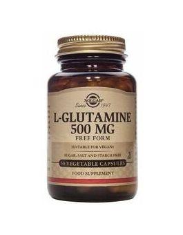 Solgar L-Glutamine 500mg (50 Vegicaps) # 1320