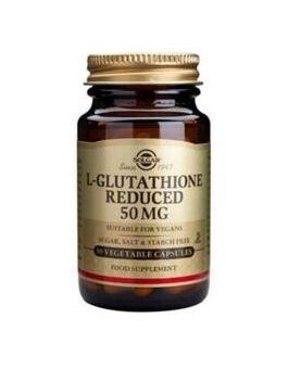 Solgar L-Glutathione 50 mg (30 Veg Caps) # 1340