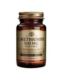 Solgar L-Methionine 500 mg (30 Vegicaps) # 1768